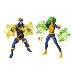 Marvel Legends 80th Anniversary pack 2 figurines X-Men Havok & Polaris 15 cm Hasbro Tout L'univers Marvel