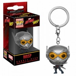 Ant-Man and the Wasp porte-clés Pocket POP! Vinyl Wasp 4 cm Funko Tout L'univers Marvel