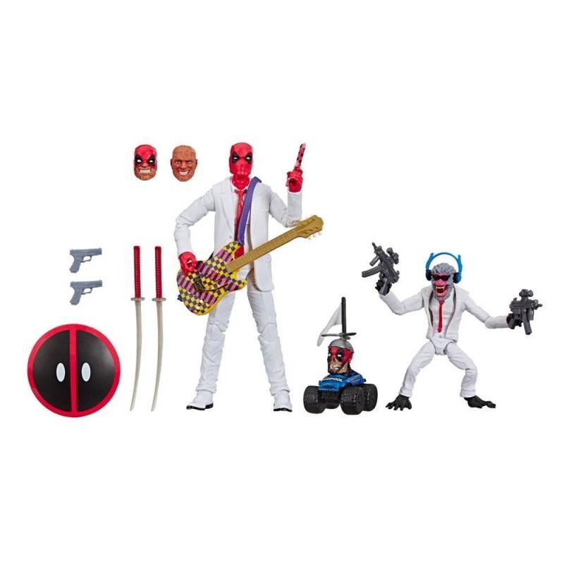 Marvel Legends Series pack 2 figurines Deadpool & Hit-Monkey 8-15 cm Hasbro Tout L'univers Marvel