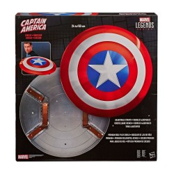 Marvel Legends Bouclier Role-Play premium Captain America 80th Anniversary 60 cm