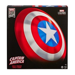 Marvel Legends Bouclier Role-Play premium Captain America 80th Anniversary 60 cm Hasbro Tout L'univers Marvel