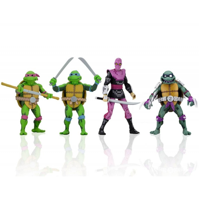 Les Tortues ninja: Turtles in Time série 1 assortiment figurines 18 cm
