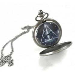 Harry Potter montre de poche avec chaînette Deathly Hallows Lootcrate Exclusive