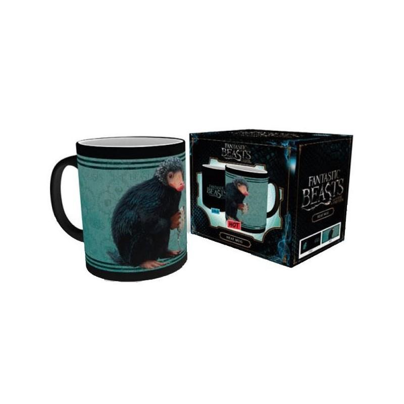 Les Animaux fantastiques mug effet thermique Niffler