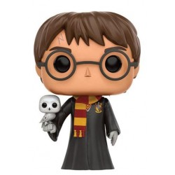 Harry Potter POP! Movies Vinyl figurine Harry with Hedwig 9 cm