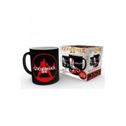 God of War mug effet thermique Kratos