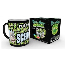 Rick et Morty mug effet thermique Get Schwifty