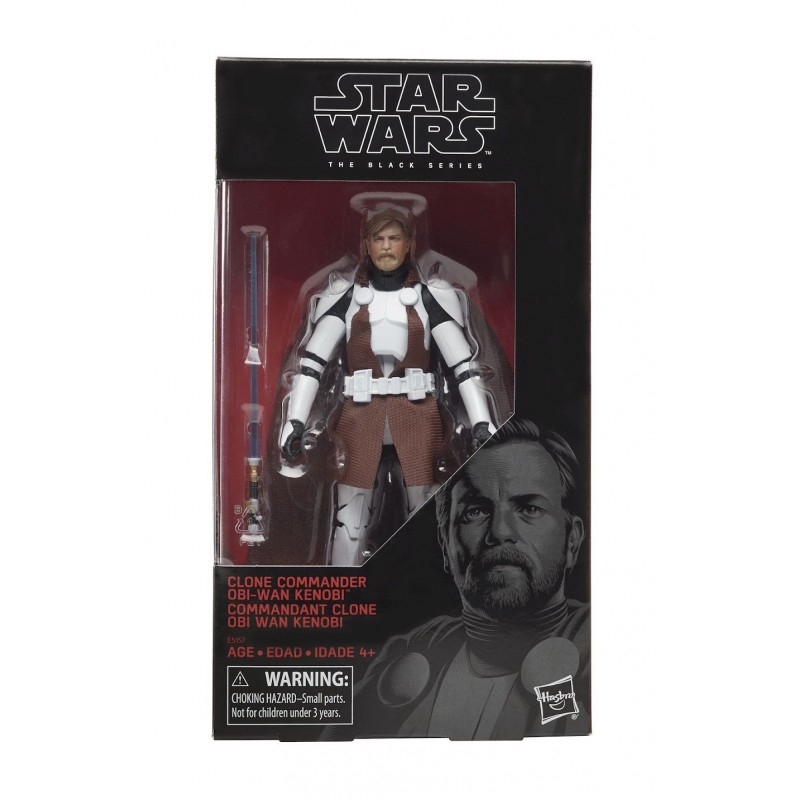 Star Wars Black Series figurine Clone Commander Obi-Wan 15 cm Hasbro Toute la gamme Black Series