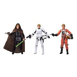 Star Wars Vintage Collection pack 3 figurines Luke Skywalker Jedi Destiny SDCC Exclusive 10 cm Hasbro Pré-commandes