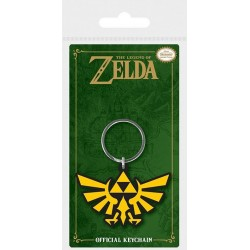 Legend of Zelda porte-clés caoutchouc Triforce 6 cm