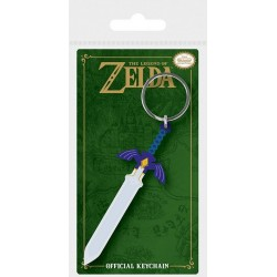 Legend of Zelda porte-clés caoutchouc Master Sword 6 cm