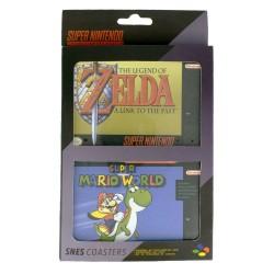 Super Nintendo pack 4 sous-verres
