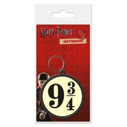 Harry Potter porte-clés caoutchouc 9 3/4 6 cm