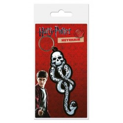 Harry Potter porte-clés caoutchouc Dark Mark 6 cm