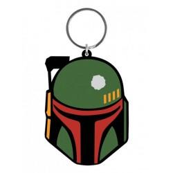 Star Wars porte-clés caoutchouc Boba Fett 6 cm