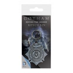 Gotham porte-clés caoutchouc GCPD Badge 6 cm