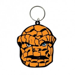 Marvel Comics porte-clés caoutchouc The Thing 6 cm