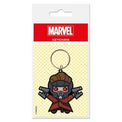 Marvel Comics porte-clés caoutchouc Kawaii Star Lord 6 cm