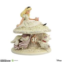 Disney statuette White Woodland Alice in Wonderland (Alice au pays des merveilles) 18 cm
