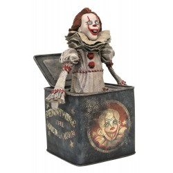 Ça : Chapitre 2 Gallery diorama Pennywise in Box 23 cm
