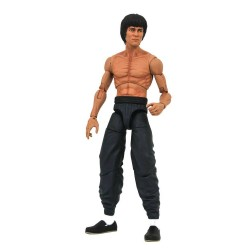Bruce Lee Select figurine Bruce Lee Shirtless 18 cm