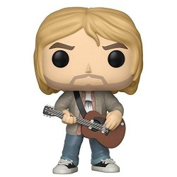 Figurine Funko Pop Rocks 67 Kurt Cobain Funko Musique