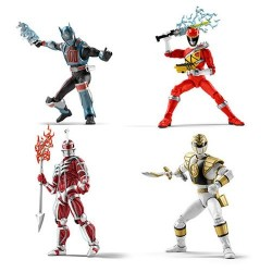 Power Rangers Lightning Collection 15cm Figures Wave 1 - Set de 4 figurines
