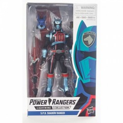 Figurine Power Rangers Lightning Collection 15cm - S.P.D. Shadow Ranger