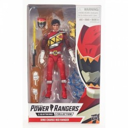 Figurine Power Rangers Lightning Collection 15cm - Dino Charge Red Ranger