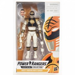 Figurine Power Rangers Lightning Collection 15cm Mighty Morphin White Ranger