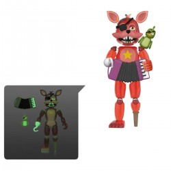 Five Nights at Freddy's Pizza Simulator figurine Rockstar Foxy (Translucent) 13 cm