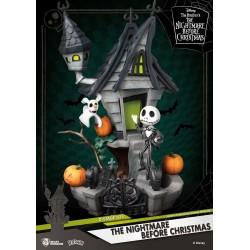 L´étrange Noël de Mr. Jack diorama PVC D-Stage Jack's Haunted House 15 cm