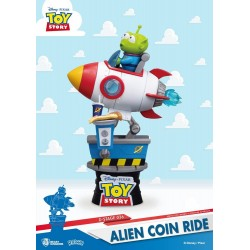 Toy Story diorama PVC D-Stage Alien Coin Ride 15 cm