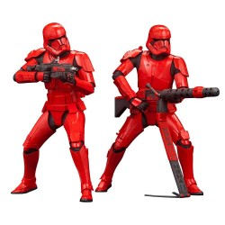 Star Wars Episode IX pack 2 statuettes PVC ARTFX+ Sith Troopers 15 cm