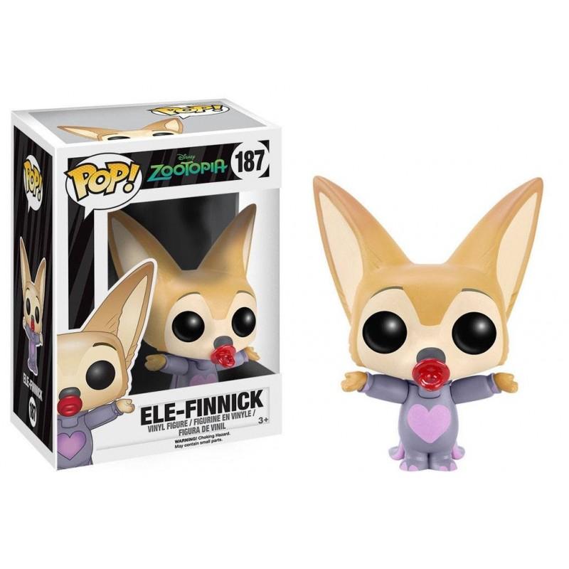 Zootopie POP! Disney Vinyl figurine Ele-Finnick 7 cm