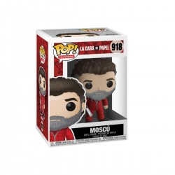 La casa de papel POP! TV Vinyl figurine Moscow 9 cm
