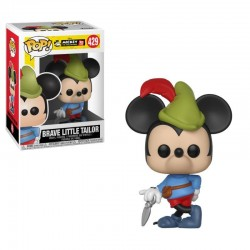 Mickey Maus 90th Anniversary Figurine POP! Disney Vinyl Brave Little Tailor Mickey 9 cm