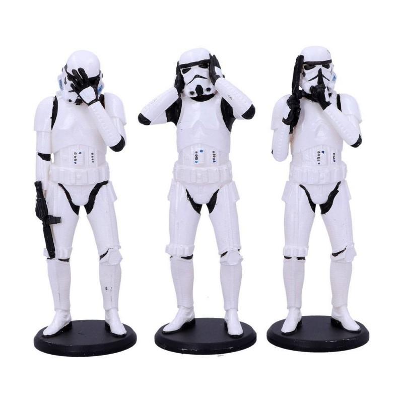 Original Stormtrooper pack 3 figurines Three Wise Stormtroopers 14 cm