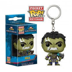Thor Ragnarok porte-clés Pocket POP! Vinyl Hulk (Gladiator Suit) 4 cm
