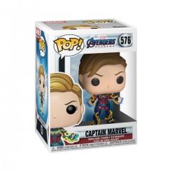 Avengers: Endgame POP! Movies Vinyl figurine Captain Marvel w/New Hair 9 cm