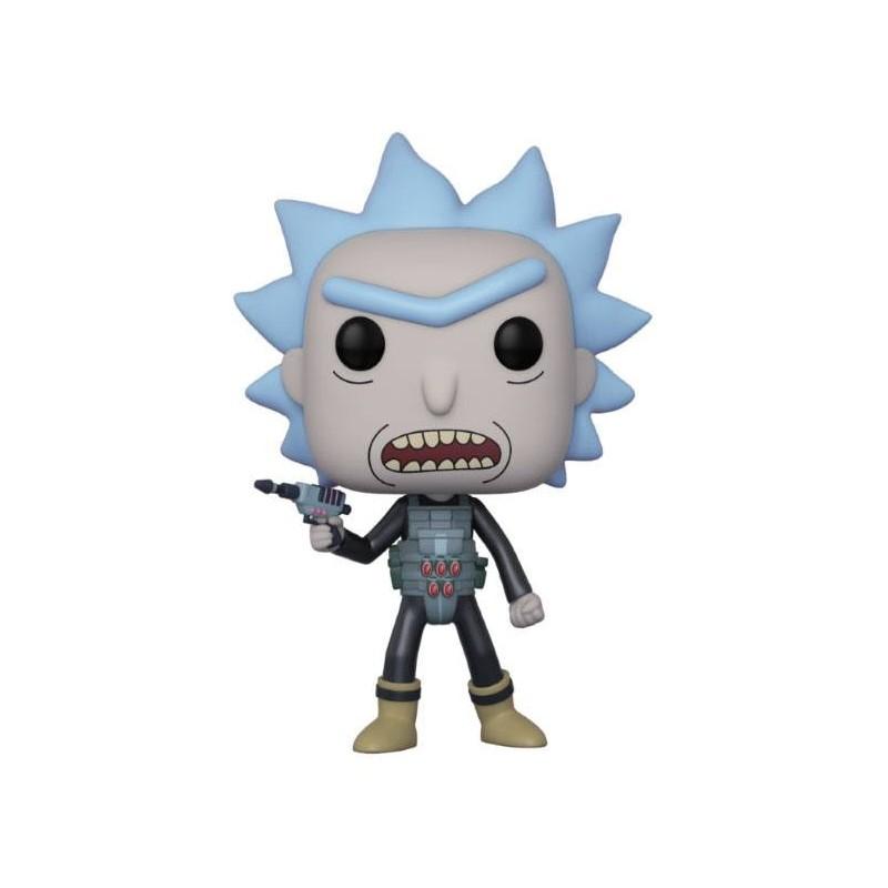Rick et Morty Figurine POP! Animation Vinyl Prison Escape Rick 9 cm