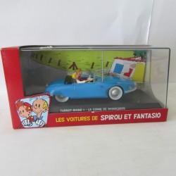 Les voitures de Spirou & Fantasio Turbot-Rhino 1 - La Corne de Rhinoceros