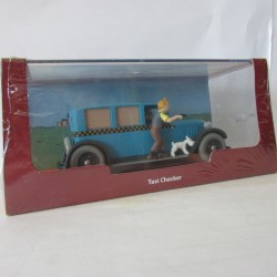 Voiture Miniature Tintin 1/43 Taxi Checker