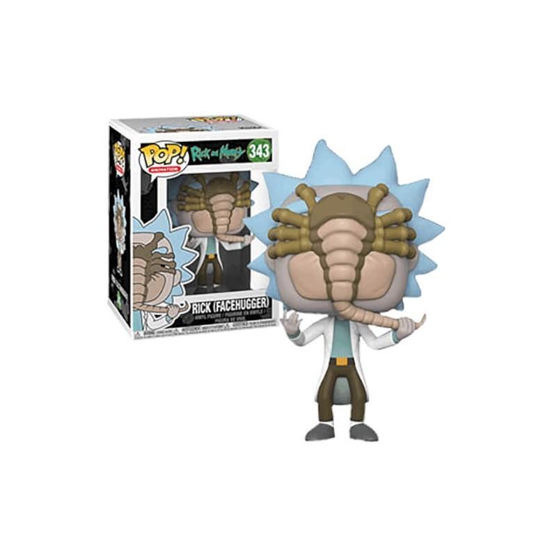 Rick et Morty Figurine POP! Animation Vinyl Rick Facehugger