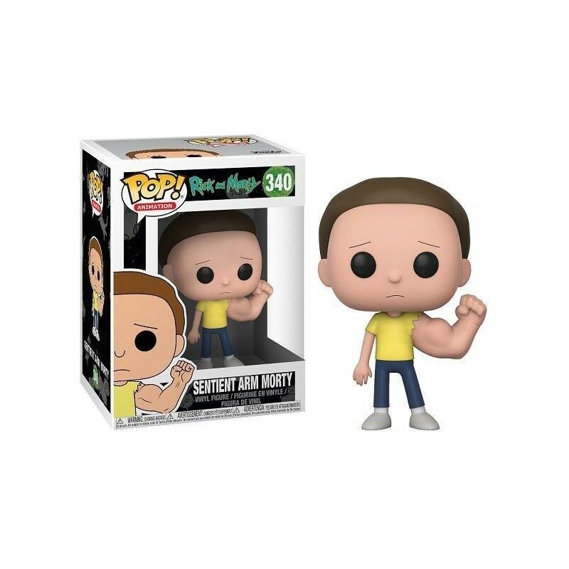 Rick et Morty Figurine POP! Animation Vinyl Setient Arm Morty