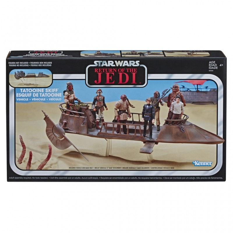 Star Wars Episode VI Vintage Collection véhicule Jabba's Tatooine Skiff Exclusive Hasbro Toute la gamme Vintage Collection