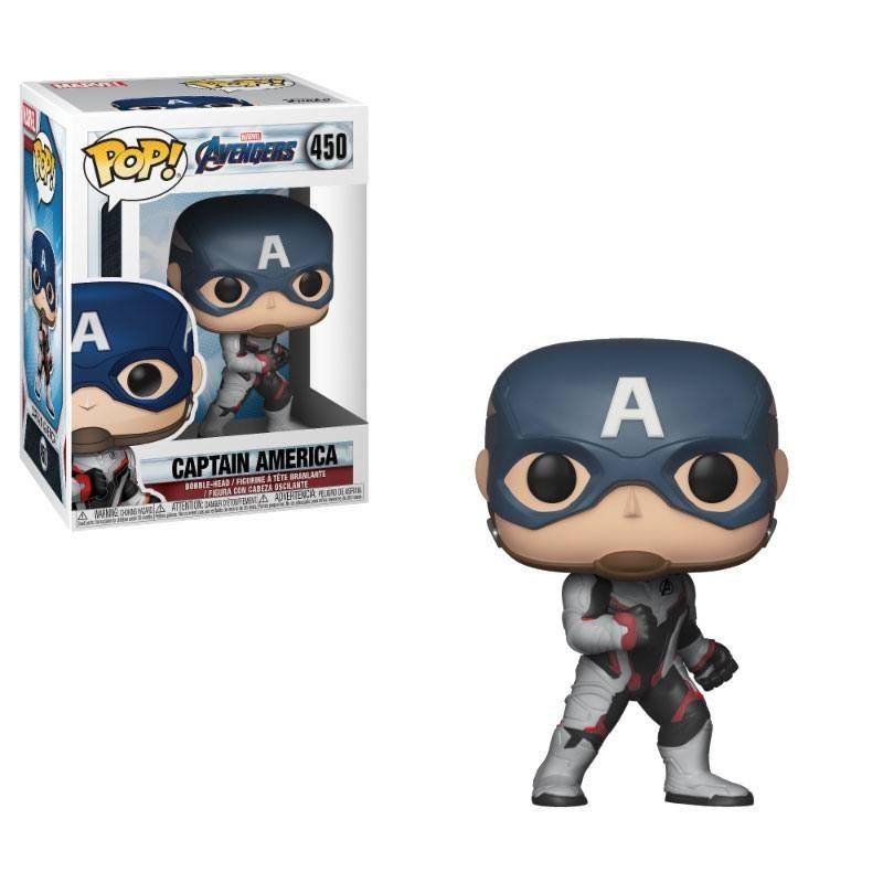Avengers Endgame POP! Movies Vinyl figurine Captain America 9 cm