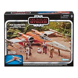 Star Wars Episode IX Vintage Collection véhicule 2019 Poe Dameron's X-Wing Fighter Hasbro Toute la gamme Vintage Collection