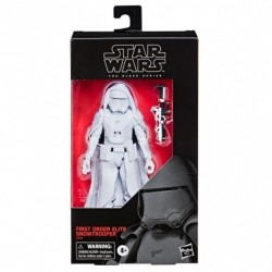 Star Wars Episode IX Black Series figurine First Order Elite Snowtrooper Exclusive 15 cm Hasbro Toute la gamme Black Series