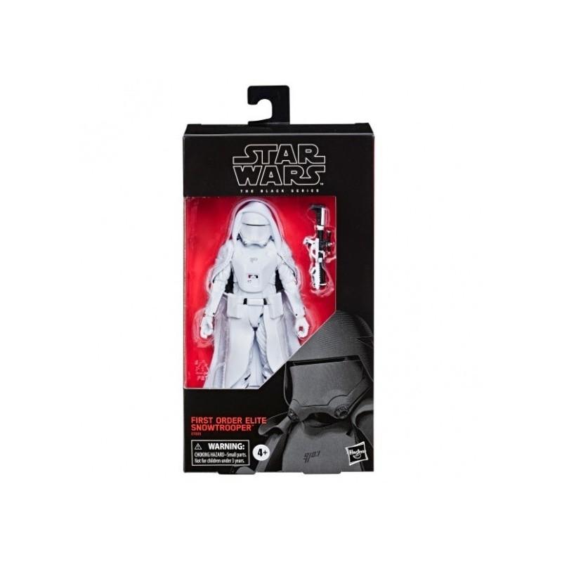 Star Wars Episode IX Black Series figurine First Order Elite Snowtrooper Exclusive 15 cm Hasbro Toute la gamme Black Series
